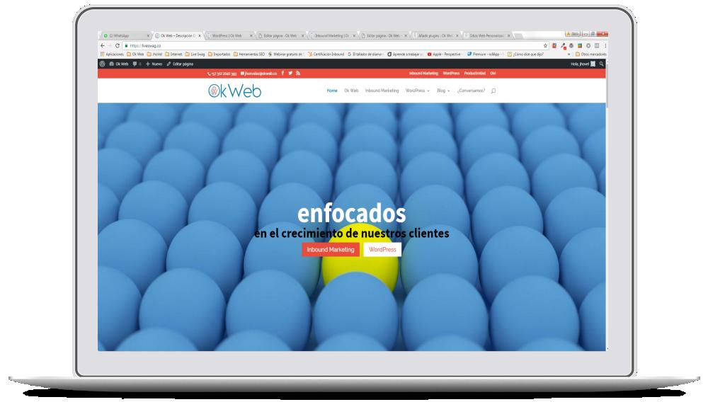 Ok Web - Contenido y Diseño