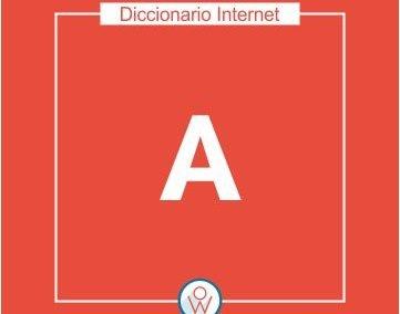 Diccionario Internet A
