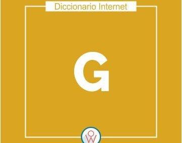 Diccionario Internet G