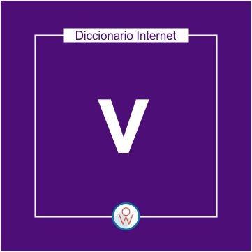 Diccionario Internet: V