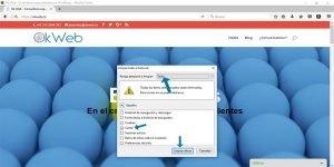 Ok Web – Eliminar cache con comando en mozilla