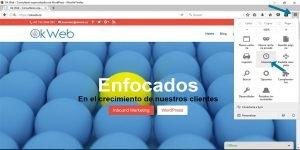 Ok Web – Eliminar cache de mozilla