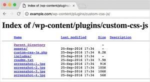 Ok Web – Indexacion de directorio