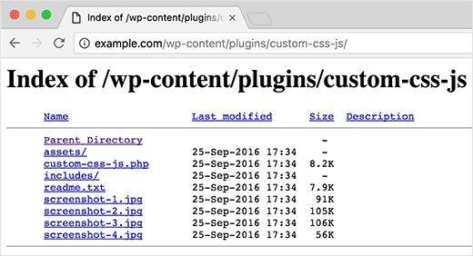 Ok Web - Indexacion de directorio