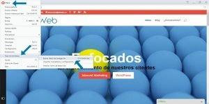Ok Web – eliminar cache de Opera