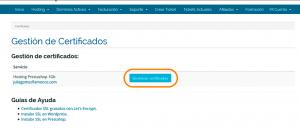Ok Web – Gestión-certificados-webempresa