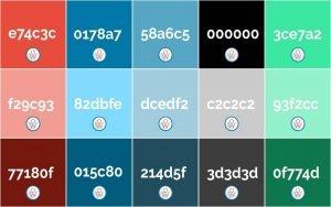 Ok Web – Paleta de Colores