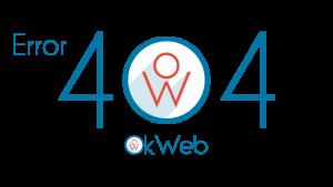 Ok Web – error 404