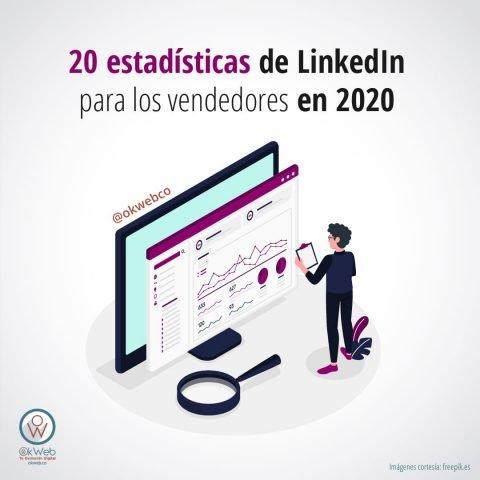 20 estadísticas de LinkedIn
