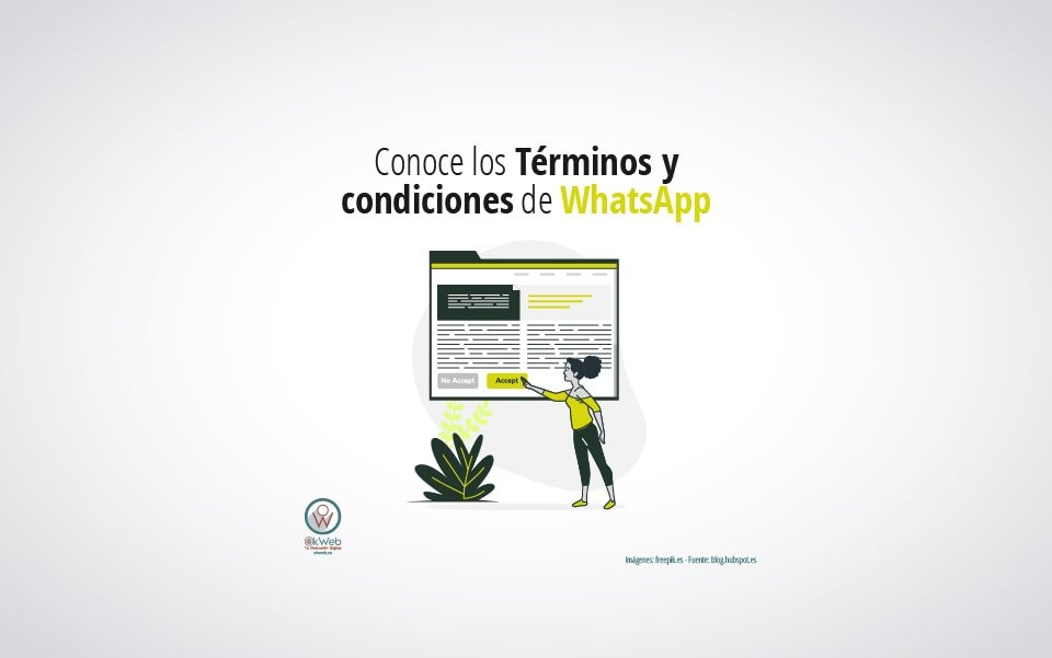 Conoce los Términos y condiciones de WhatsApp